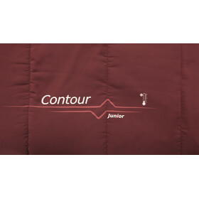 Outwell Contour Slaapzak Kinderen, red